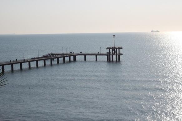 """""""Die Brücke"""", die eigentlich keine Brücke ist."""
