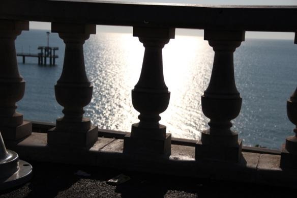 """Ein Blick von der """"Terrasse"""""""