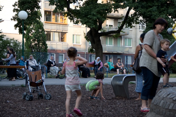 In einem Park in Wien
