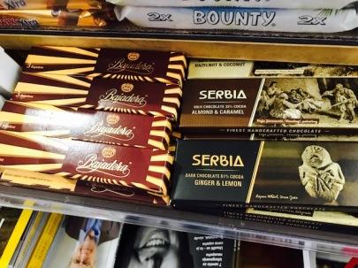"""Balkan Love: kroatische """"Bajedere"""" und serbische Schokolade """"Serbia"""" (Rayna Breuer)"""